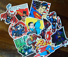 "Sticker Aufkleber Decal ""Super Heroes Set"" 12 Super Einzelsticker - Stickerbomb"