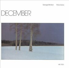 December by George Winston (CD, Jan-1995, Windham Hill Records)