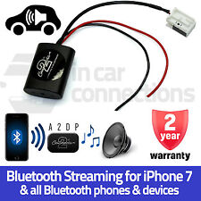 AUDI a4 streaming Bluetooth AUX Interfaccia Adattatore mp3 MUSICA IPHONE 5 6 7 Samsung