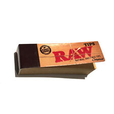 RAW Rolling Paper Tips Filter Spacer (50 Sheets per pk) CANADA SHIPPED