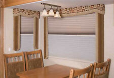 RV Camper Trailer Day Night Window Sun Shade Blind Curtain Door WRV 21.5 x 23""