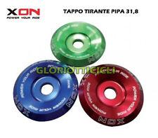 XON - TAPPO TIRANTE STERZO COLORE BLU 31,8mm.