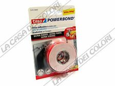 TESA - POWERBOND ULTRASTRONG - NASTRO BIADESIVO ULTRA-FORTE - 19 mm X 1,5 m