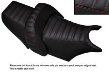 LINE DESIGN D RED STITCH CUSTOM FITS YAMAHA V MAX 1200 FRONT + REAR SEAT COVERS