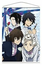 Official Bungo Stray Dogs Wall Scroll Tapestry Poster Dazai Atsushi Art Bungou