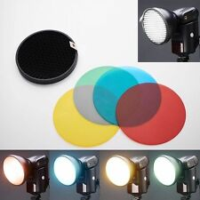 Godox AD-S11 Color Filter Gel Pack & Reflector For WITSTRO Flash AD180 AD360 II