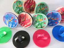 12 Pj Masks Rings cupcake toppers - birthday party favor pinata cake toys Catboy