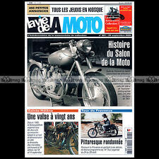 LA VIE DE LA MOTO LVM N°401 BSA 250 C11 G ★ SIDE-CAR CHANG-JIANG MANX FETHERBED