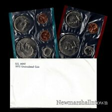 1973 P+D US Mint Set Eisenhower Kennedy Washington Roosevelt Jefferson Lincoln