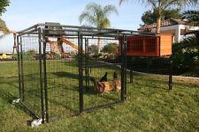 Chicken Coop Rugg'egg' Ranch Spring Fling Mobile Coop, Metal Coop, Welded Wire
