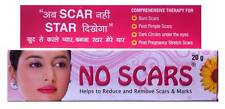 6 X No Scars skin care cream Remove scar & Marks 20g Expiry 2018 fast delivery