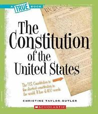 The Constitution of the United States True Books