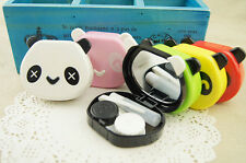 Girls Outdoor Panda Travel Kit Storage Contact Lens Case Box Container Holder