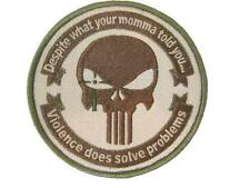 """Navy Seal Team Black Ops The Punisher Sniper Multicam Military 4"""" Patch Velcro"""