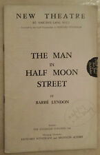 1939 NEW THEATRE: LESLIE BANKS - ANN TODD in THE MAN IN HALF MOON STREET