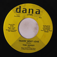 TOM DOOLEY: Talkin' Bout Love / Stay By The Phone 45 rare Soul