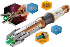 *NEW* 12th Dr Doctor Who Sonic Screwdriver LED SFX Touch Control - Peter Capaldi