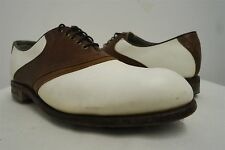 VTG Etonic Ultimate Gore-Tex Saddle Golf Spikes Golf Cleats Shoes sz 10D mens#63