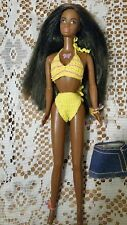 BARBIE DOLL 1998 BUTTERFLY ART TATTOO CHRISTIE AISHA AFRICAN AMERICAN KNITED