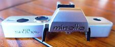 Minolta SRT101b Camera Top Cover (Chrome SRT-101b) - NEW replacement part