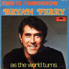 "7"" Bryan Ferry (Roxy Music) – This Is Tomorrow // Belgium 1977"
