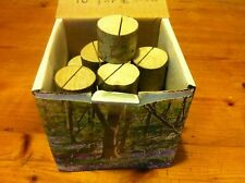 Real Wood Log Wedding Party Restaurant Name Place Card Holders Quality X100 Uk!