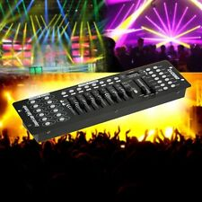 192 CH DMX512 Controller Laser DJ Light Disco Stage Lighting Console Lamp Party