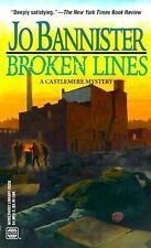 Broken Lines (A Castlemere mystery) by Bannister, Jo
