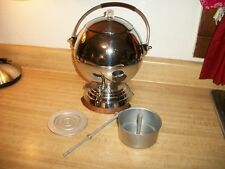 Vintage Chrome Art Deco Spherical Manning Bowman 488/20 Coffee Maker Percolator