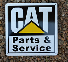 CATERPILLAR CAT Parts SIGN Mechanic Shop Backhoe Dozer Skidsteer Excavator