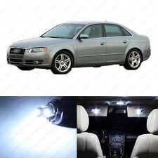19 x White LED Interior Light Package For 2002 - 2008 Audi A4 S4 B6 Sedan Only