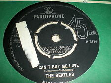BEATLES - CAN'T BUY ME LOVE / YOU CAN'T DO THAT = PYE CONTRACT PRESSING