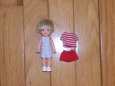 BARBIE KELLY - TOMMY DOLL WITH SHOES & CLOTHES