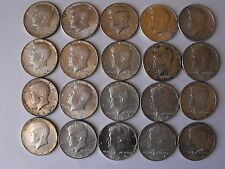 LOT OF 20 - 1964 KENNEDY HALF DOLLARS - 90% SILVER - $10 FACE VALUE!