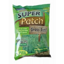 Super Patch Grass Seed Thicken Garden Lawn Quick Easy Hard Wearing Save Water 1L