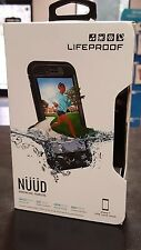 IPHONE 7 - LIFEPROOF NUUD WATERPROOF CASE - NEW - Black + Clear Authentic