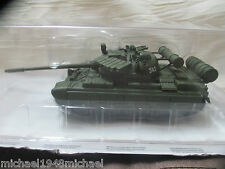 JAMES BOND CAR COLLECTION.  T55 SPECIAL EDITION TANK - GOLDENEYE (NO MAGAZINE)