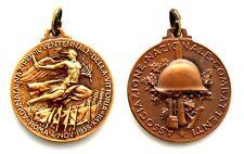 Medaglia Associazione Nazionale Combattenti Adunata Nazionale Per il Ventennale