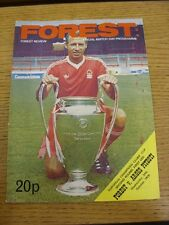 24/10/1979 Nottingham Forest v Arges Pitesti [European Cup] . Thanks for viewing