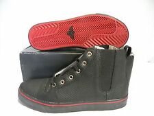 Creative Recreation PONTI HI Shoes Mens BLACK/RED CR76-37 size 7.5 new