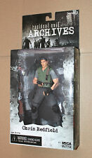 Residente Evil Archives series Action Figure personaje neca Chris Redfield