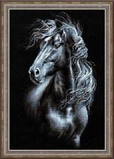 "Counted Cross Stitch Kit RIOLIS - ""Breeze Through Mane"""