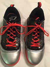 MEN'S NIKE JORDAN CP3 VI AE BASKETBALL 580580-608 SZ 9 GYM RED/CRIMSON/BLACK