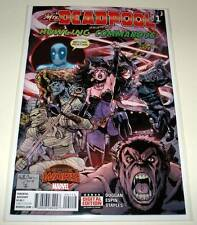 Mrs. DEADPOOL & The HOWLING COMMANDOS # 1  Marvel Comic 2015  NM  2nd PRINTING