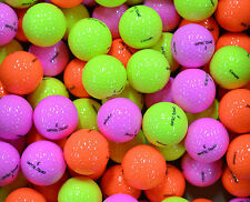 50 AAA PREMIUM ASSORTED COLOURED GOLF BALLS