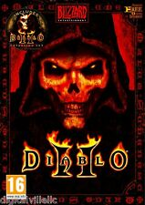 Diablo II 2 and Diablo II Lord of Destruction Expansion PC MAC Brand New Sealed