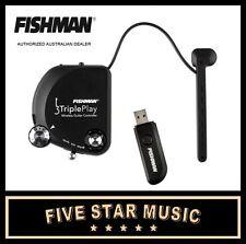FISHMAN TRIPLE PLAY MIDI USB WIRELESS GUITAR PICKUP SYSTEM - NEW TRIPLEPLAY