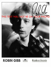 ROBIN GIBB AUTOGRAPHED 8x10 RP STUDIO PROMO PUBLICITY PHOTO BEE GEES