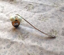 bee bookmark Handmade Tibetan Silver Glow In The Dark