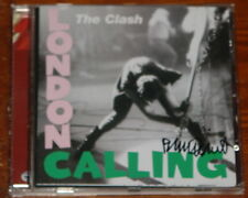 THE CLASH ~ LONDON CALLING ~ AUTHENTIC HAND SIGNED AUTOGRAPHED CD ~ PENNIE SMITH